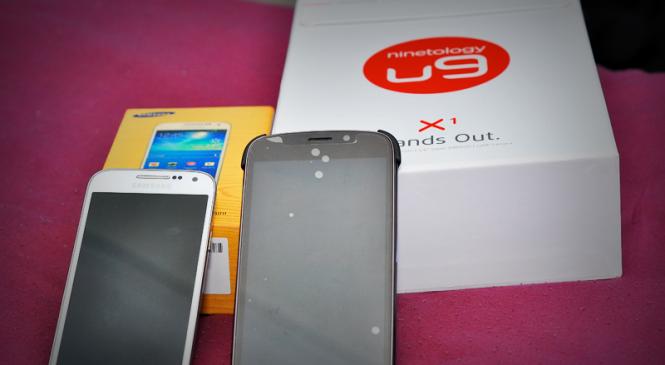 Pre-Review: Ninetology U9 Series X1 and Samsung Galaxy S4 Mini