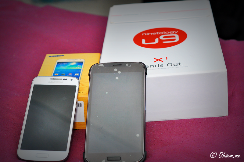 Pre-Review: Ninetology U9 Series X1 and Samsung Galaxy S4 Mini