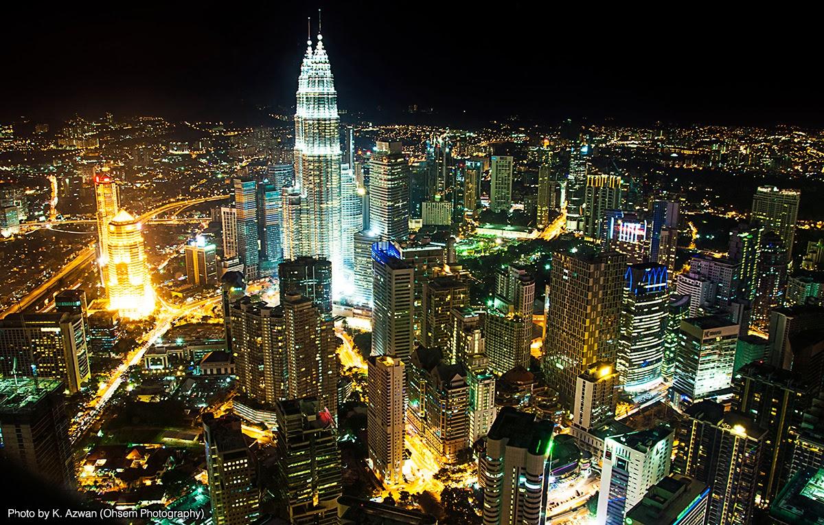 Kuala Lumpur City Skyline – Night Photography