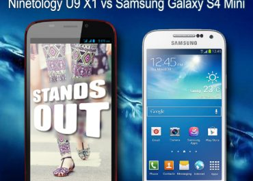 Comparison review - Ninetology U9 X1 vs Samsung Galaxy S4 Mini