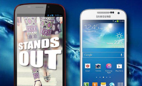 Phone Comparison Review – Ninetology U9 X1 vs Samsung Galaxy S4 Mini