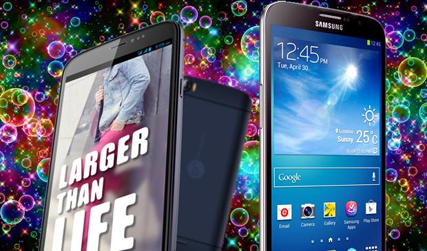 Comparison Review: Ninetology U9Z1 vs Samsung Galaxy Mega 6.3