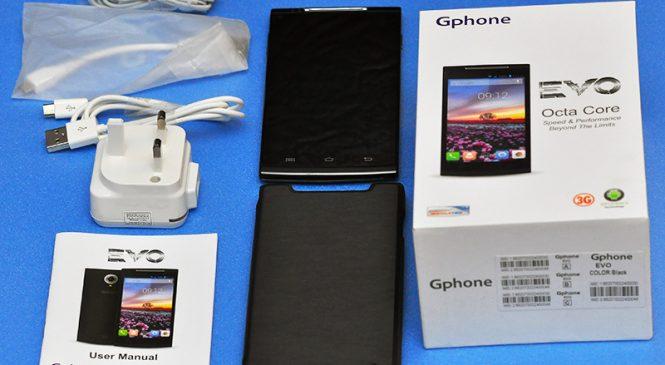 Gphone EVO – An Affordable Octa-core Powerhouse