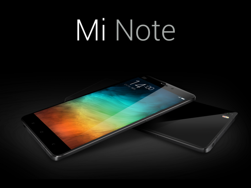 New Xiaomi Flagship Launched – Mi Note