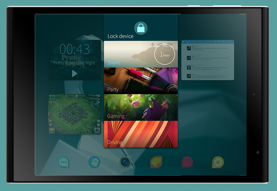 Jolla Tablet - Front View