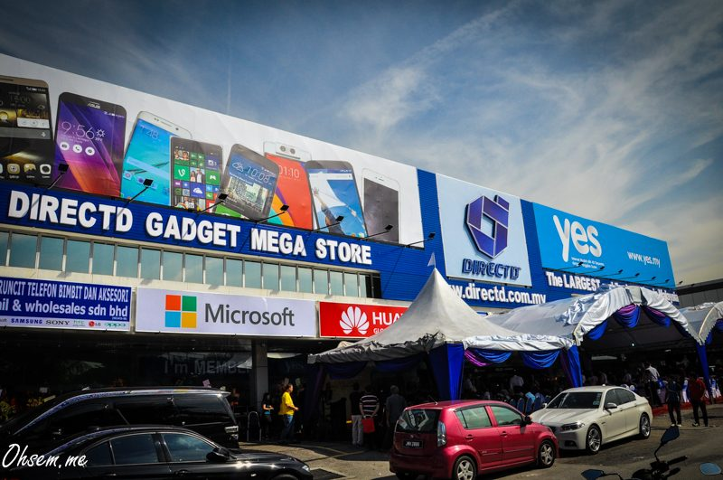 DirectD Gadget Mega Store Opens Along Federal Highway