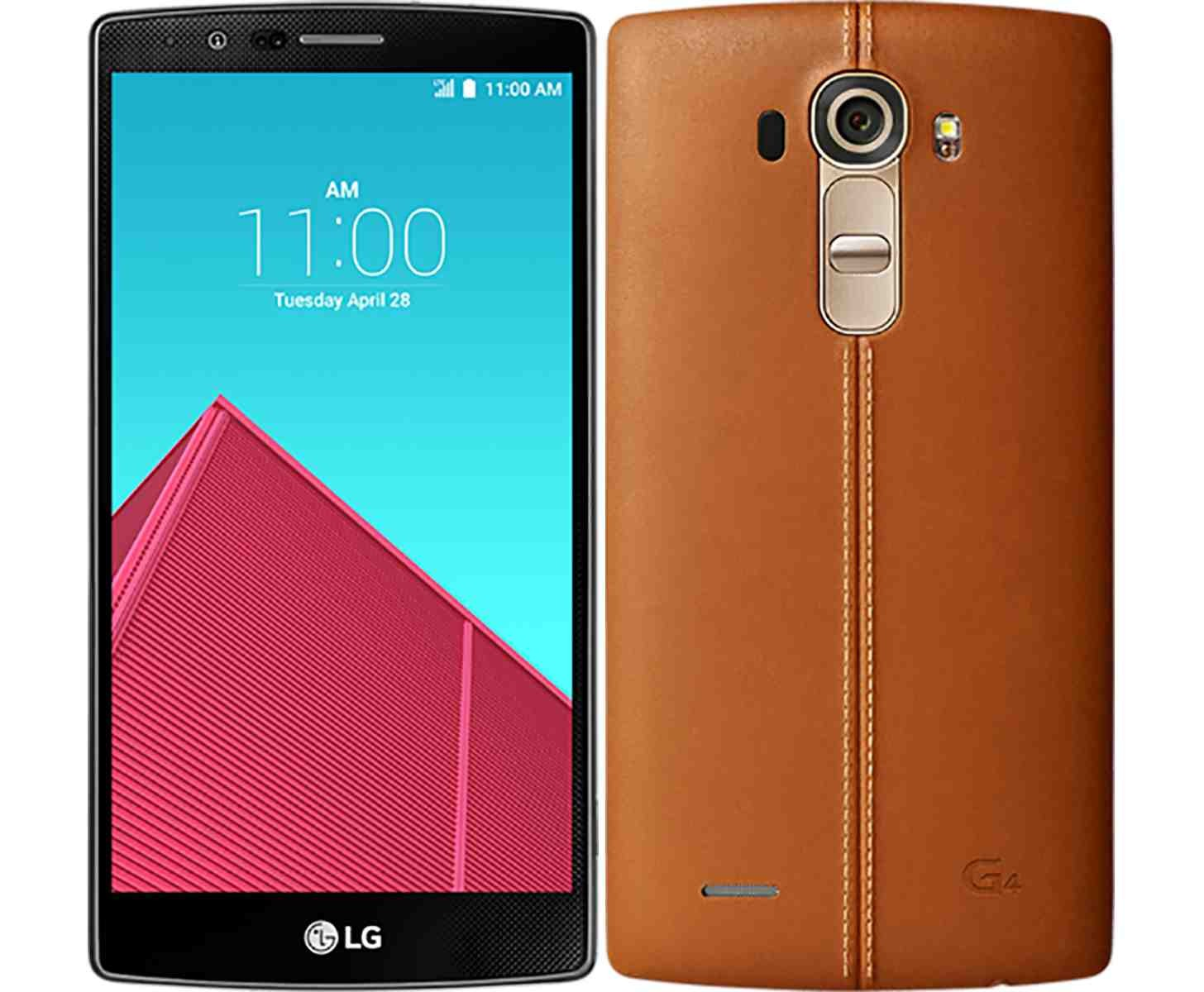 LG G4 Gets Exposed With Arched Leatherback