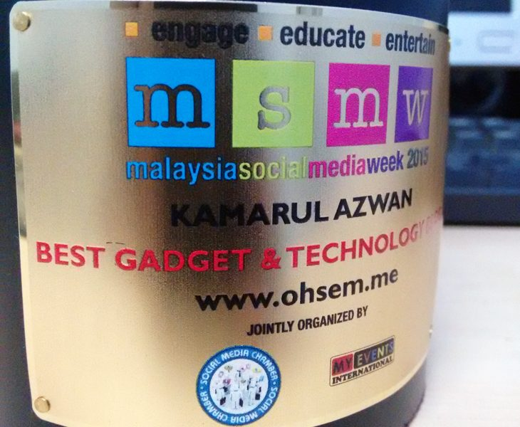 MSMW2015 Best Gadget & Technology Blog