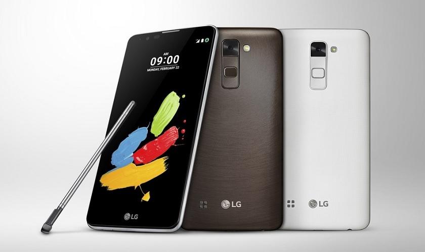 Pre MWC2016 – LG Stylus 2 Announced