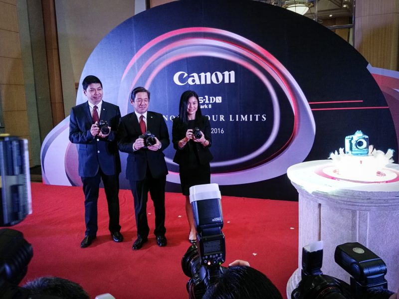 Canon EOS 1D X Mark II Media Launch