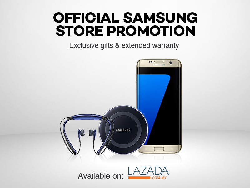 Lazada Malaysia Welcomes Samsung's Online Flagship Store