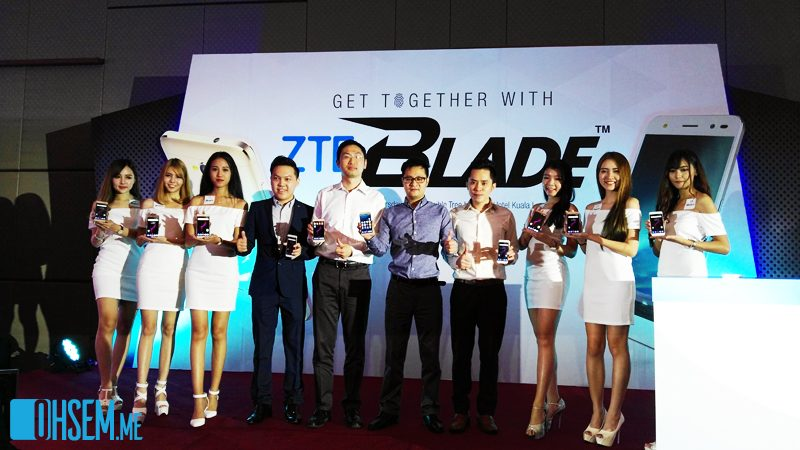 ZTE Unveiled The New Blade V7 Series In Malaysia