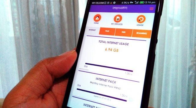 Celcom Xpax Mobile App Launched