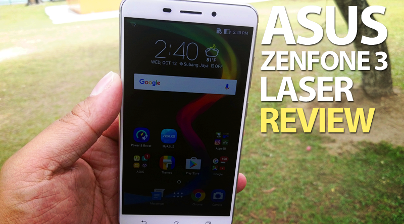ASUS ZenFone 3 Laser – Focus Faster