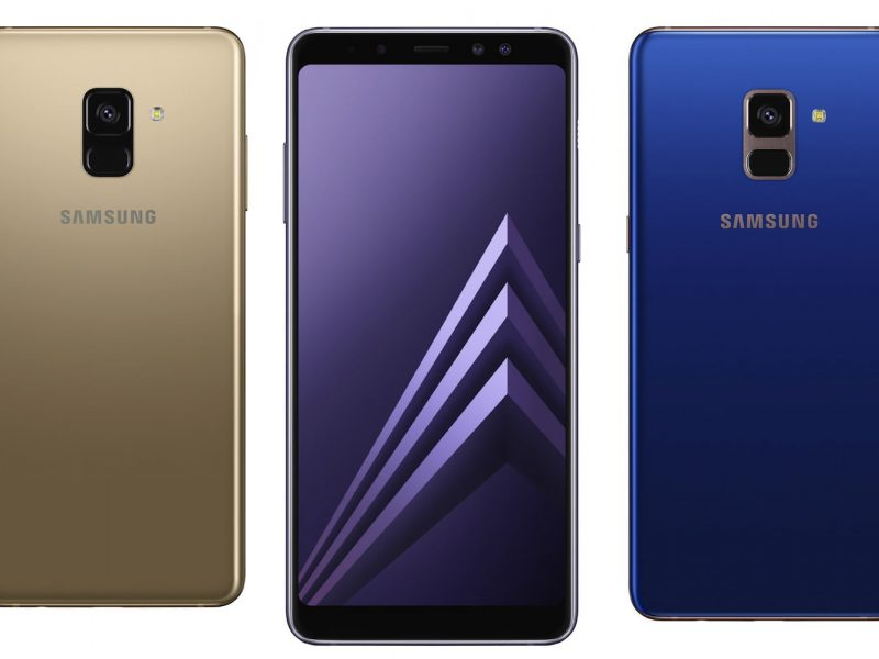 Samsung Introduces The Galaxy A8 (2018) and A8+ (2018)