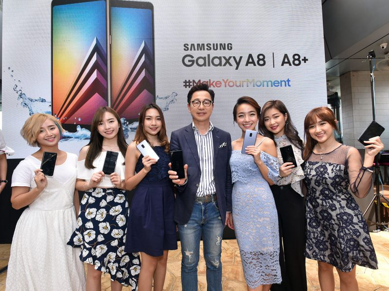 #MakeYourMoment With The Ultimate Selfie Smartphone –  Galaxy A8 & A8+ (2018)