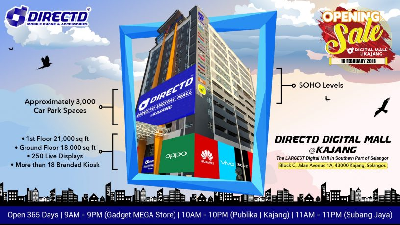 Directd opens malaysias largest digital hub in kajang sciox Choice Image
