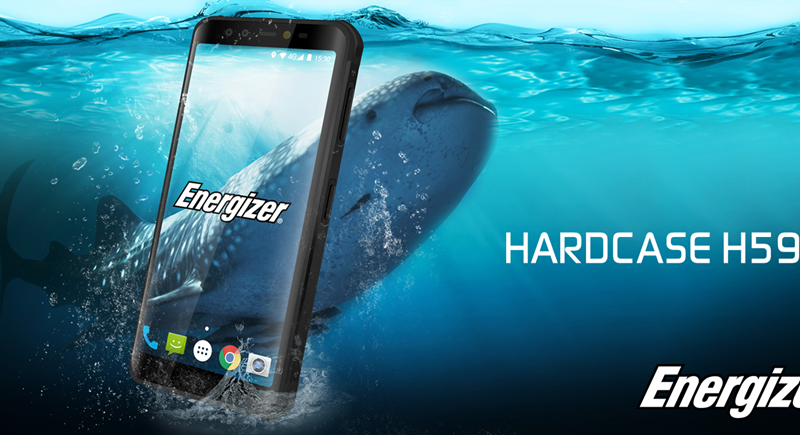 Energizer Hardcase H590S Smartphone With Huge 5,800mAh Battery