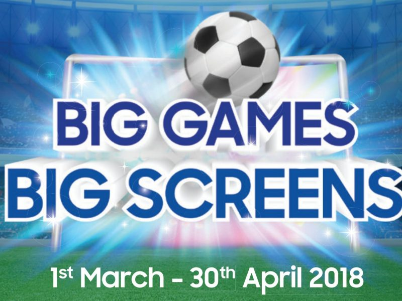Ohsem Freebies With Samsung's Big Games, Big Screens Campaign!