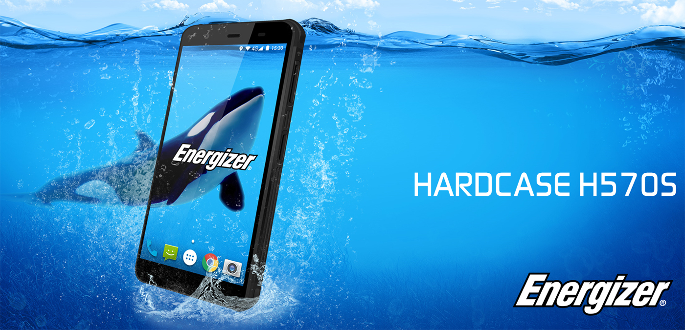 Energizer Launched Their First Rugged Waterproof Smartphone Hardcase H570S