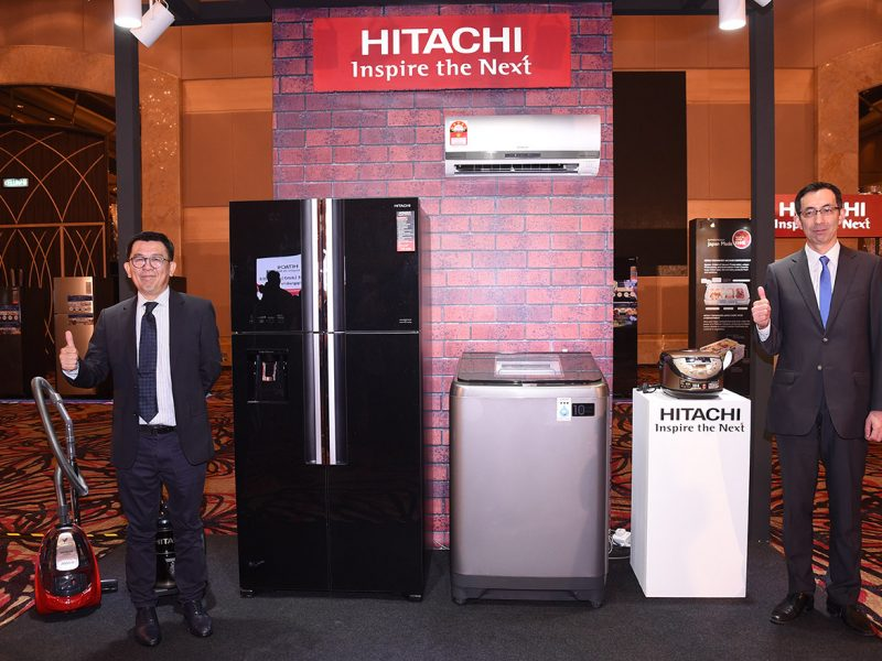 Upgrade for Life with Latest Hitachi Home Appliances
