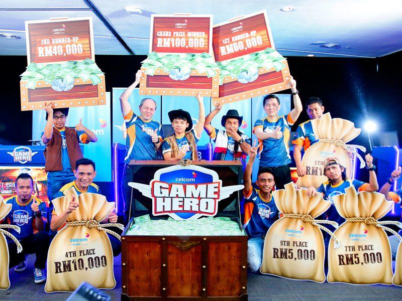 Celcom Game Hero Tournament – Kill Shot Legacy Winners