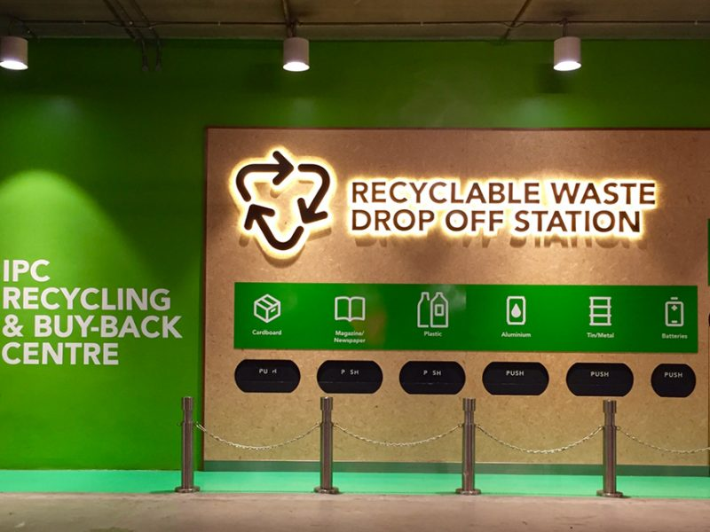 IPC Shopping Centre Does Recycling & Buy-Back Centre Initiative