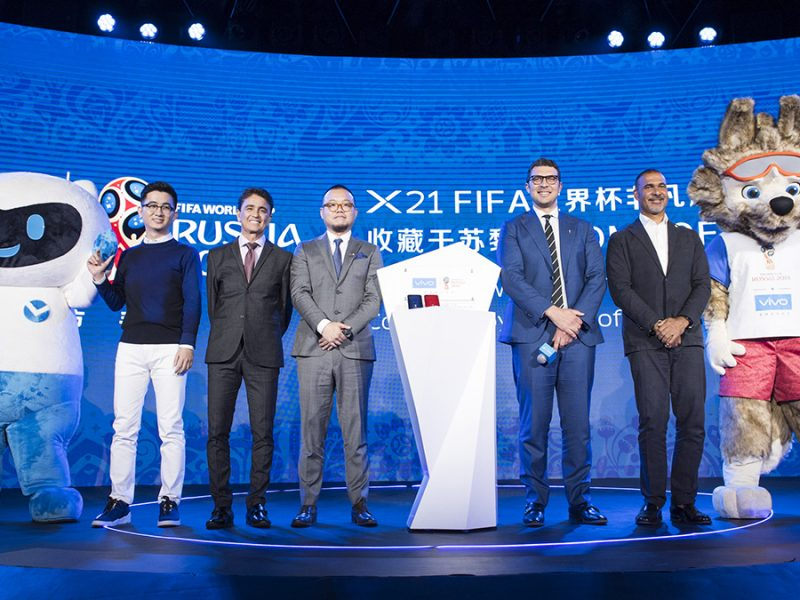 Vivo Announced 2018 FIFA World Cup Russia Campaign