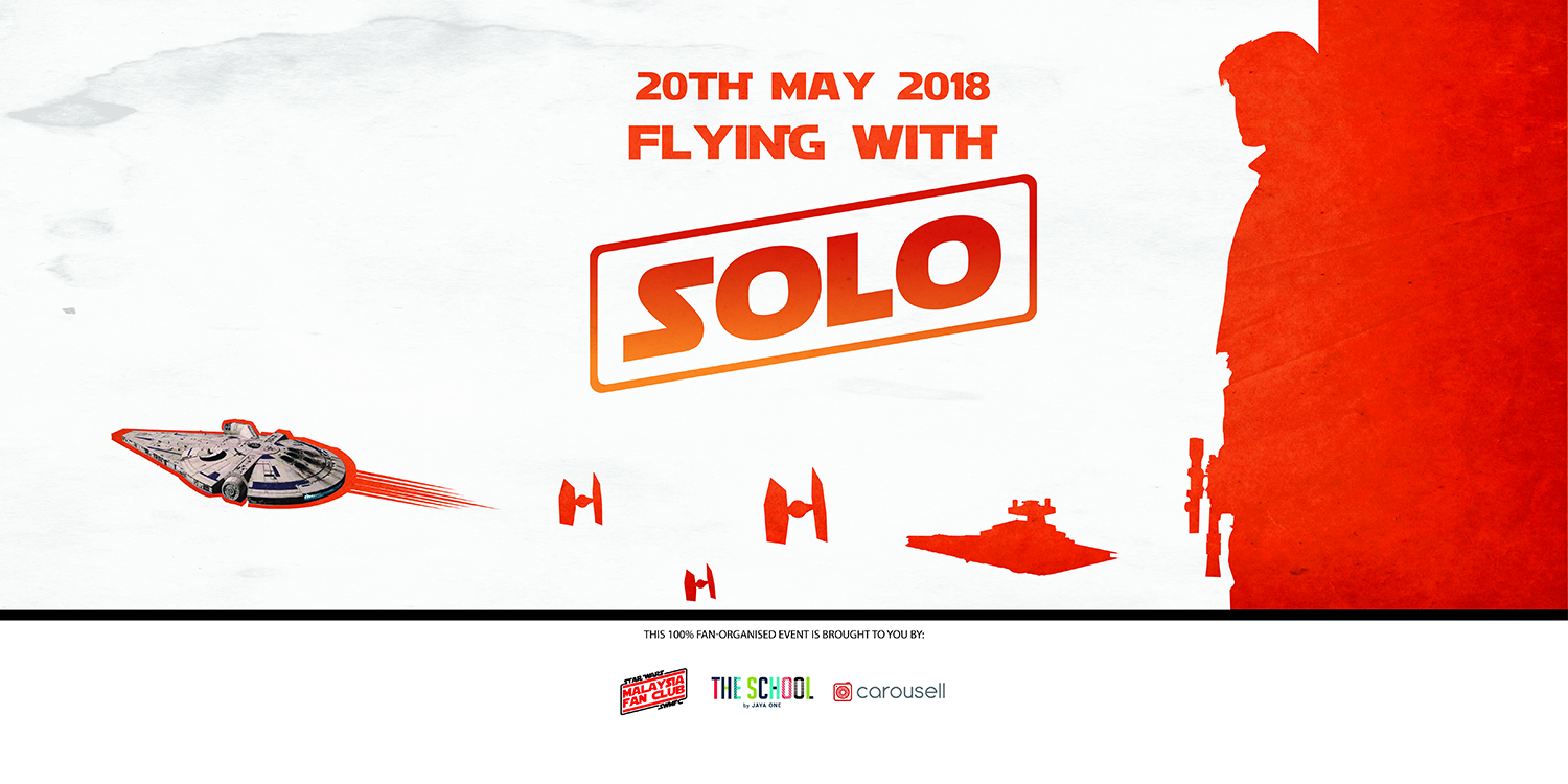 Free Public Event – Flying With Solo at Jaya One