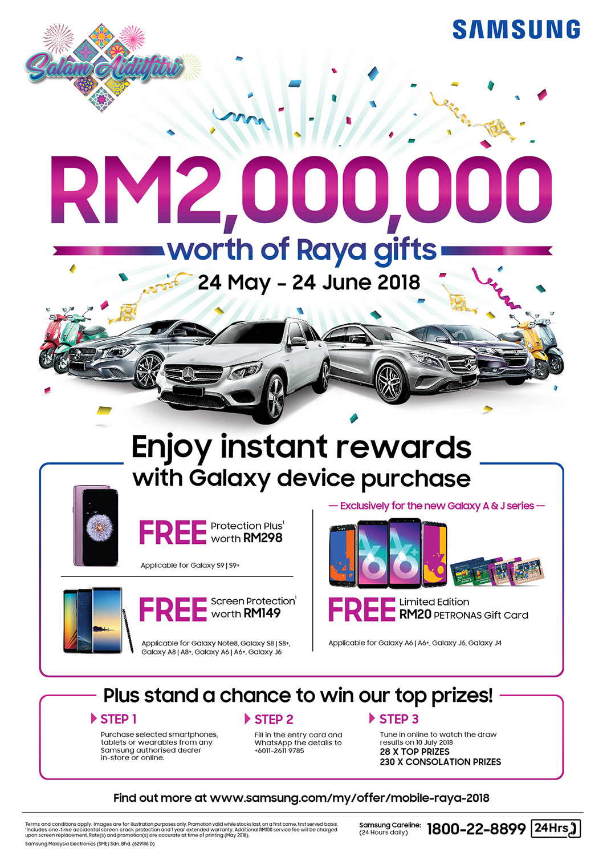 Samsung Galaxy Raya Campaign Promo