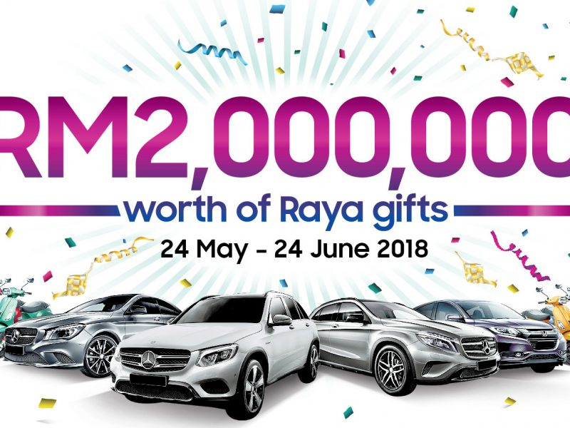 Samsung Galaxy Raya Campaign Promo With RM2,000,000 Worth of Gifts