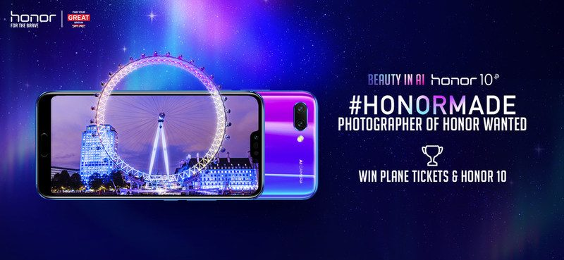 Honor and VisitBritain Launch Worldwide Photo Competition