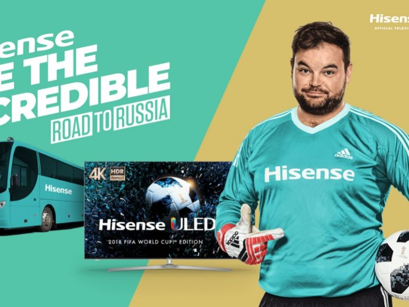 Hisense to Join Fans in FIFA World Cup With 'See The Incredible Tour'