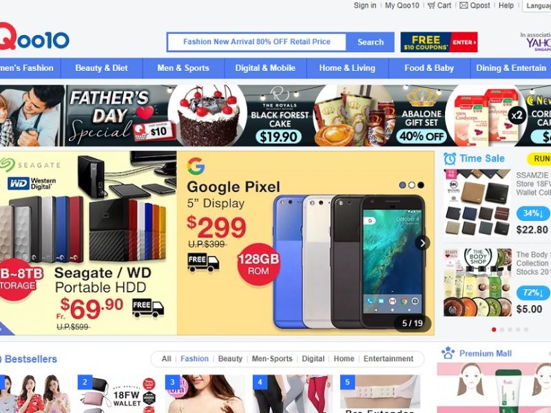 Qoo10 Takes the Lead in Singapore's E-commerce Market