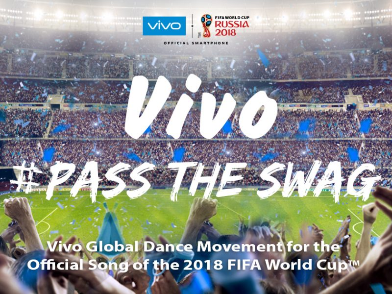 #PassTheSwag to the Official Song of 2018 FIFA World Cup with Vivo