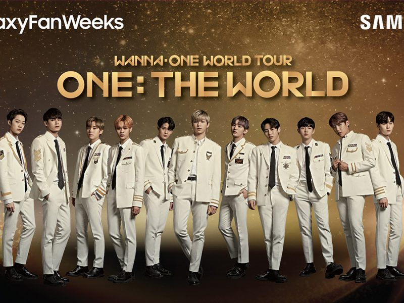 Catch Wanna One World Tour Live in KL with Samsung