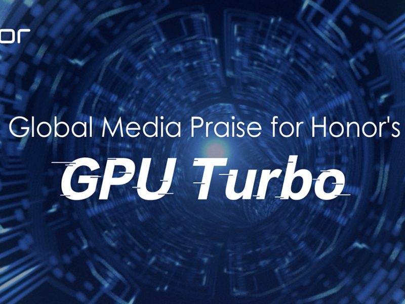 Media Recognizes Honor's Ground-Breaking GPU Turbo Technology