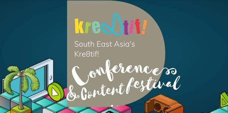 Upcoming Event: MDEC's Kre8tif! Conference and Creative Festival