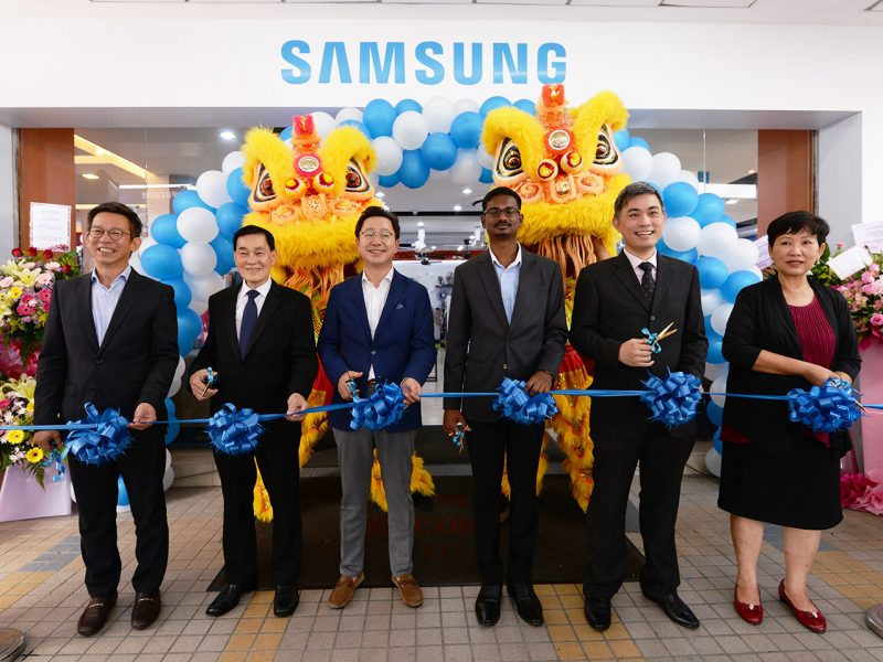 Samsung Opens 11th Brand Shop in Penang
