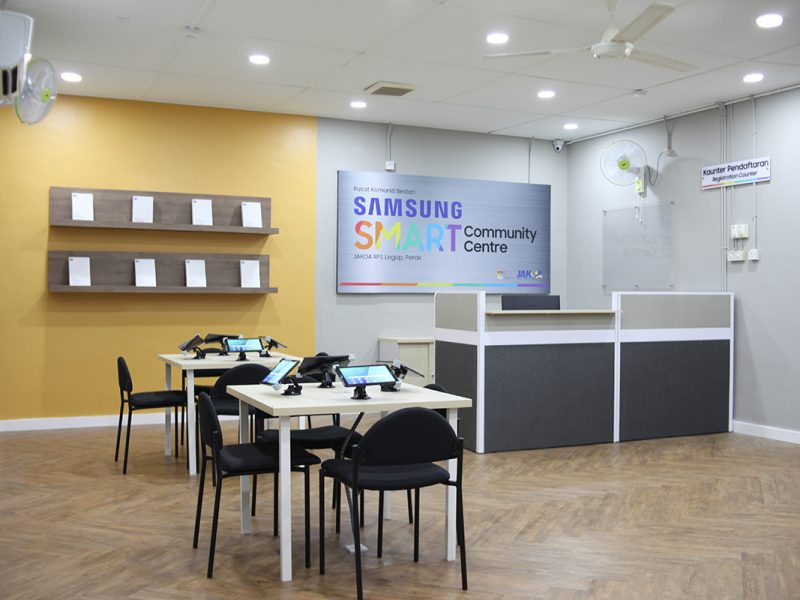 Samsung Smart Community Centre Opens New Possibilities to RPS Legap