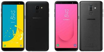 Samsung Galaxy J6 & J8