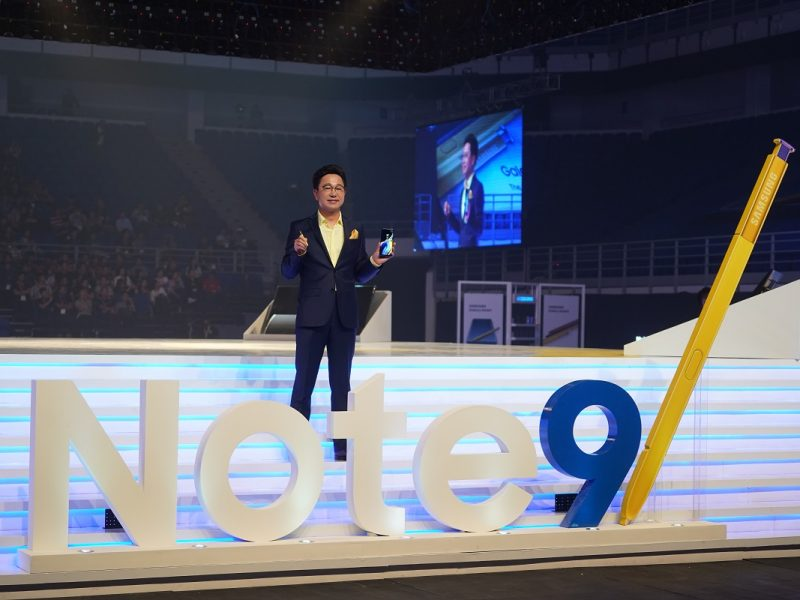 Samsung Galaxy Note9 Launched And It's Ohsem!