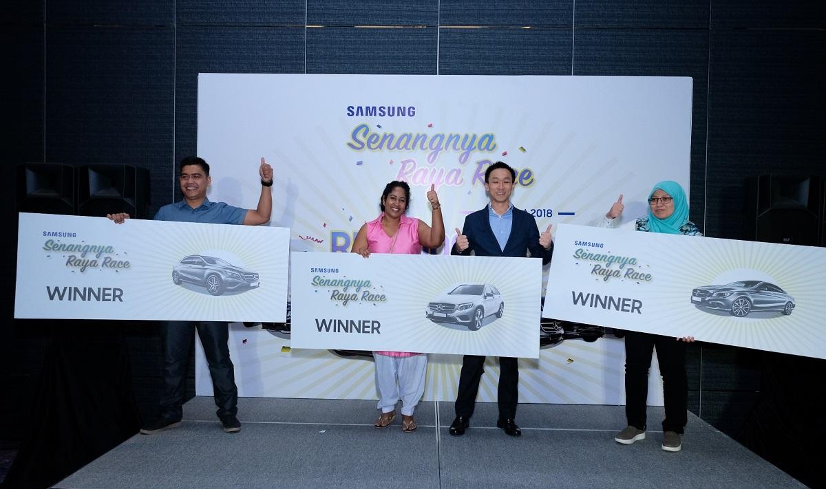 Samsung's Senangnya Raya Race