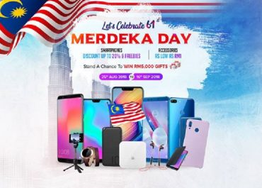 honor Merdeka offer