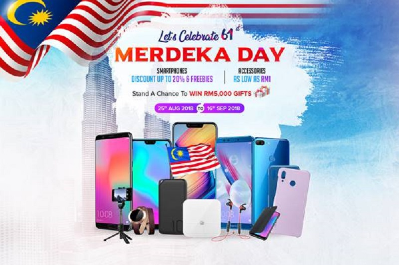 honor Celebrates Malaysia this Merdeka with Marvellous Deals from Only RM1