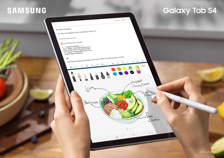 Samsung Galaxy Tab S4 & Tab A