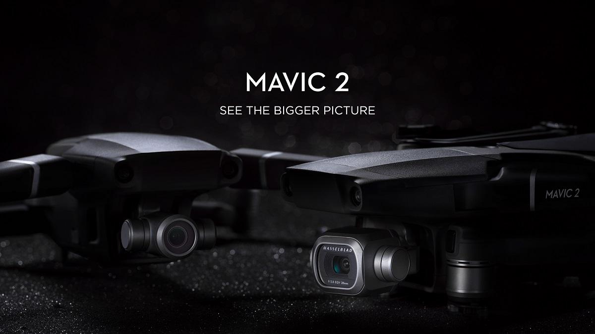 Mavic 2 Pro and Mavic 2 Zoom