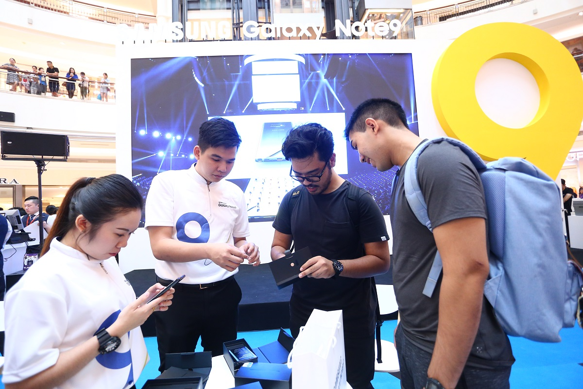 Samsung Galaxy Note9 Roadshow