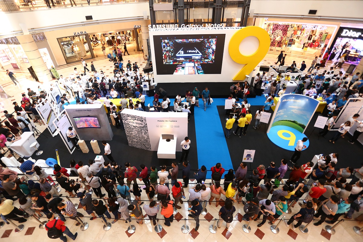 Samsung Galaxy Note9 Captivates The Crowd at Nationwide Roadshows