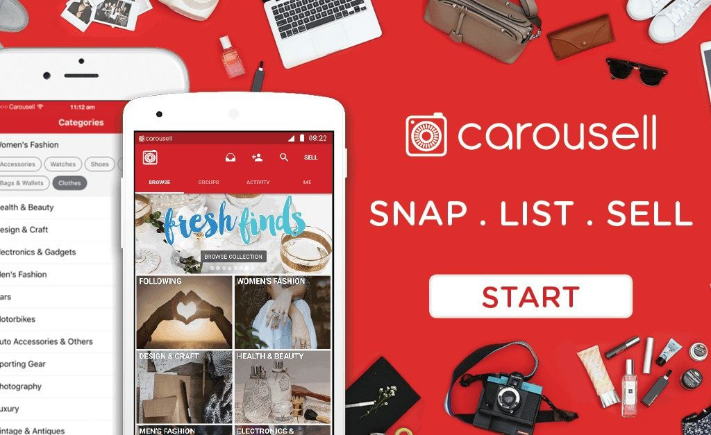 Carousell Partners Boost E-wallet and PostCo